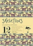 Skeletons : Gift and creative paper book Vol.14
