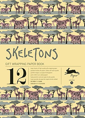 Skeletons : Gift and creative paper book Vol.14 (Gift Wrapping Paper Book)