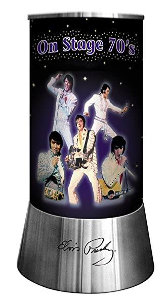 Elvis Presley Rotating Lamp On Stage 70u0027s