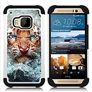 King Case - angry cat tiger water nature animal - Cubierta de la caja protectora completa h???¡¯???€????€?????brido Body Armor Protecci?&f