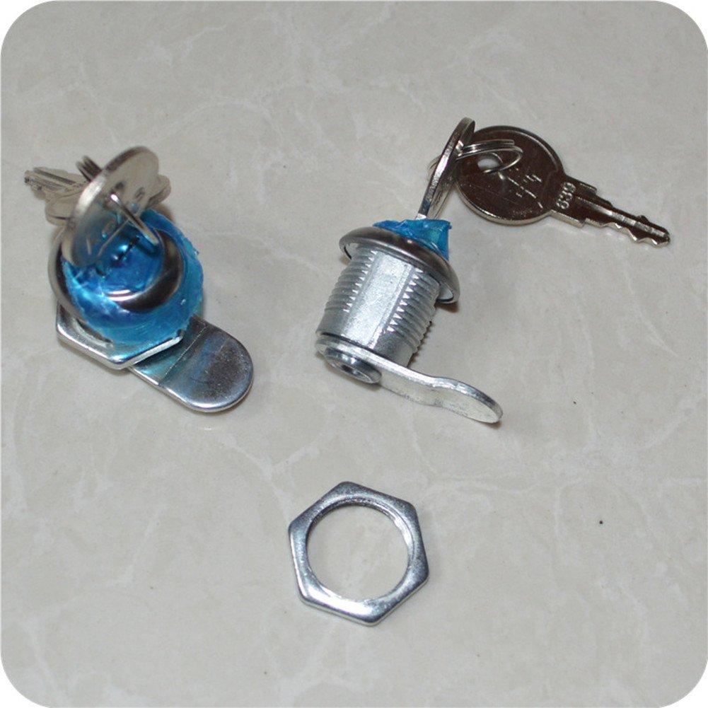 2pcs Mailbox lock cylinder Letter box lock Administrator key cylinder