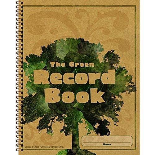 CARSON DELLOSA THE GREEN RECORD BOOK (Set of 3)