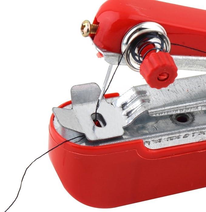 jakerbing DIY Portable Mini Mano de mano de AMPERA näharbeit Ropa coser: Amazon.es: Hogar