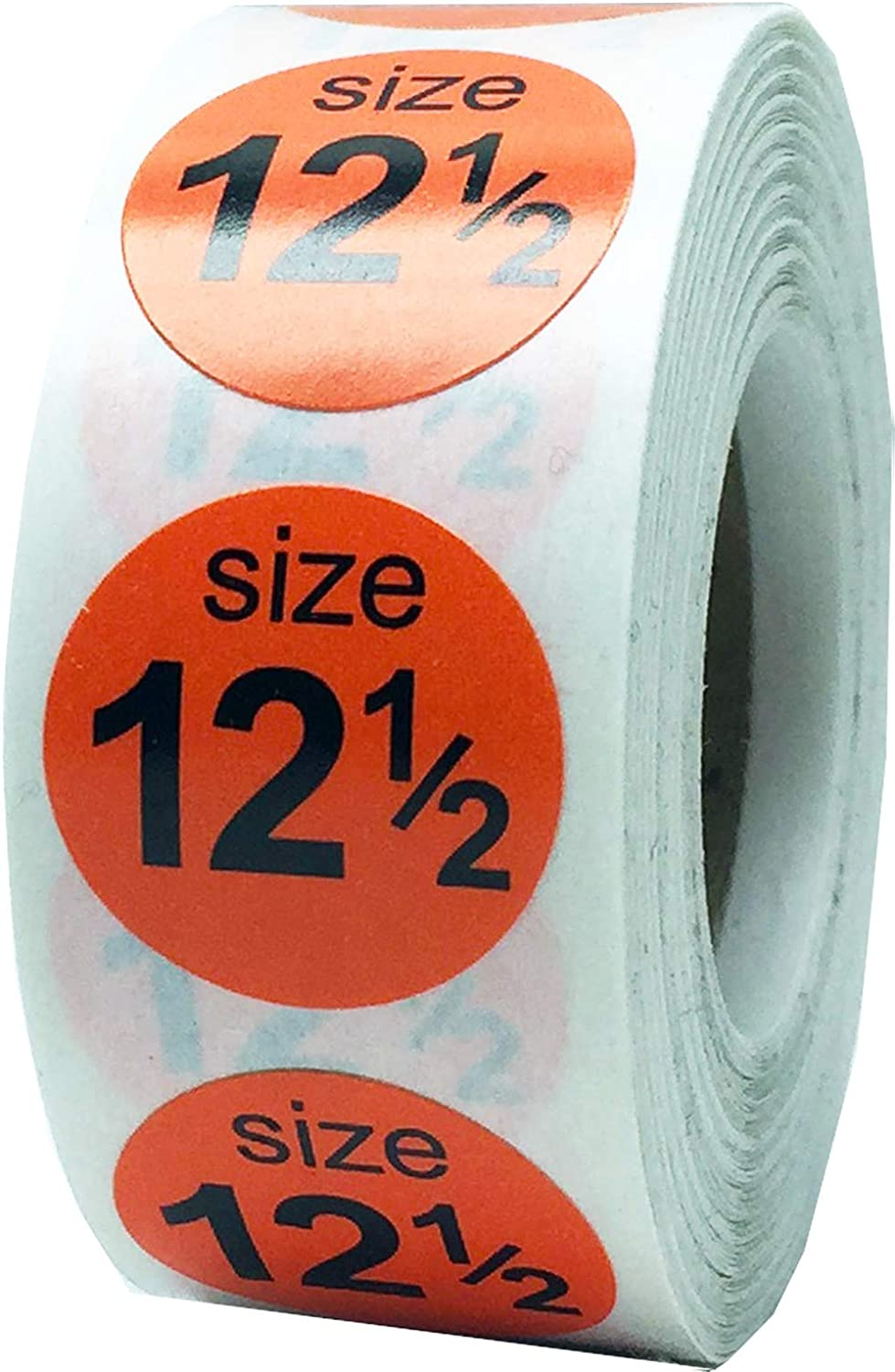 Shoe Size 11 Blue Stickers for Retail Clothing 0.75 Inch 500 Total Adhesive Labels