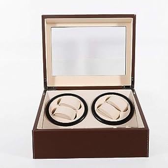 Caja para Relojes con 10 Compartimentos Yunrux de Piel sintética ...