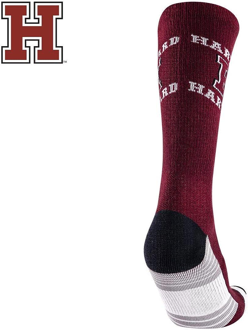 TCK Harvard University Socks Crimson Red Team Screamer Crazy Crew Socks