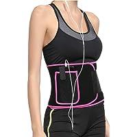 XDSP Midjestränare trimmer, bantning midjeformare kroppsstöd svett midjetränare neopren bantningsbälte justerbar mage…