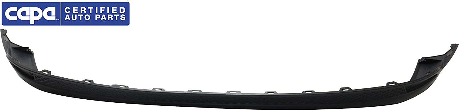 CAPA Rear Lower Valance Compatible with 2012-2014 Ford Focus Bumper Extension Textured Electric//SE//SEL//Titanium Models Hatchback