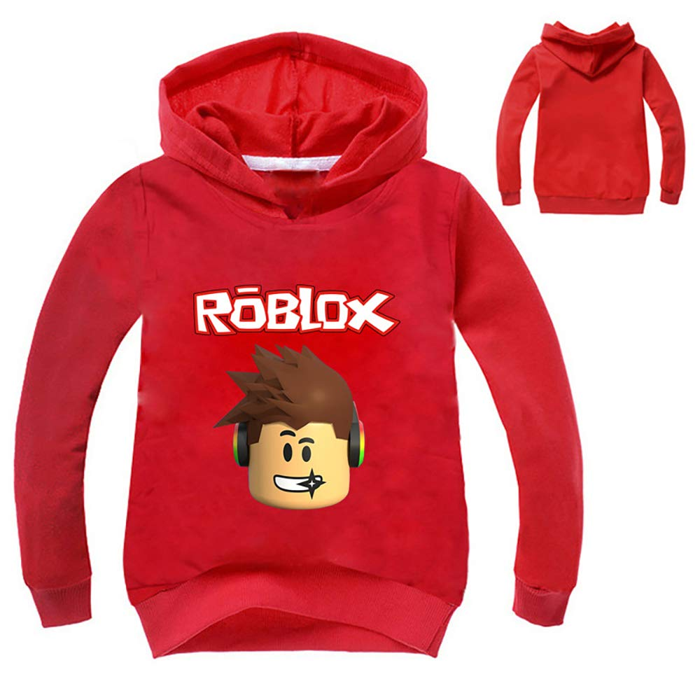 Baby Boys Kids Roblox Thin Soft Comfortable Hoodie Sweatshirt
