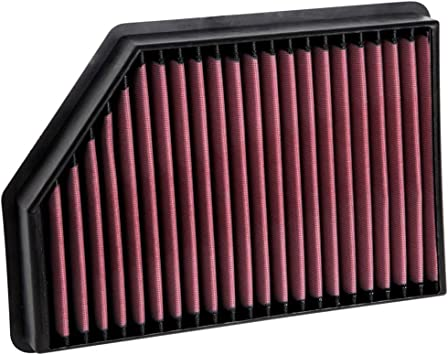 Fits Chevy Silverado HD 2017-2019 6.6L K/&N High Flow Replacement Air Filter