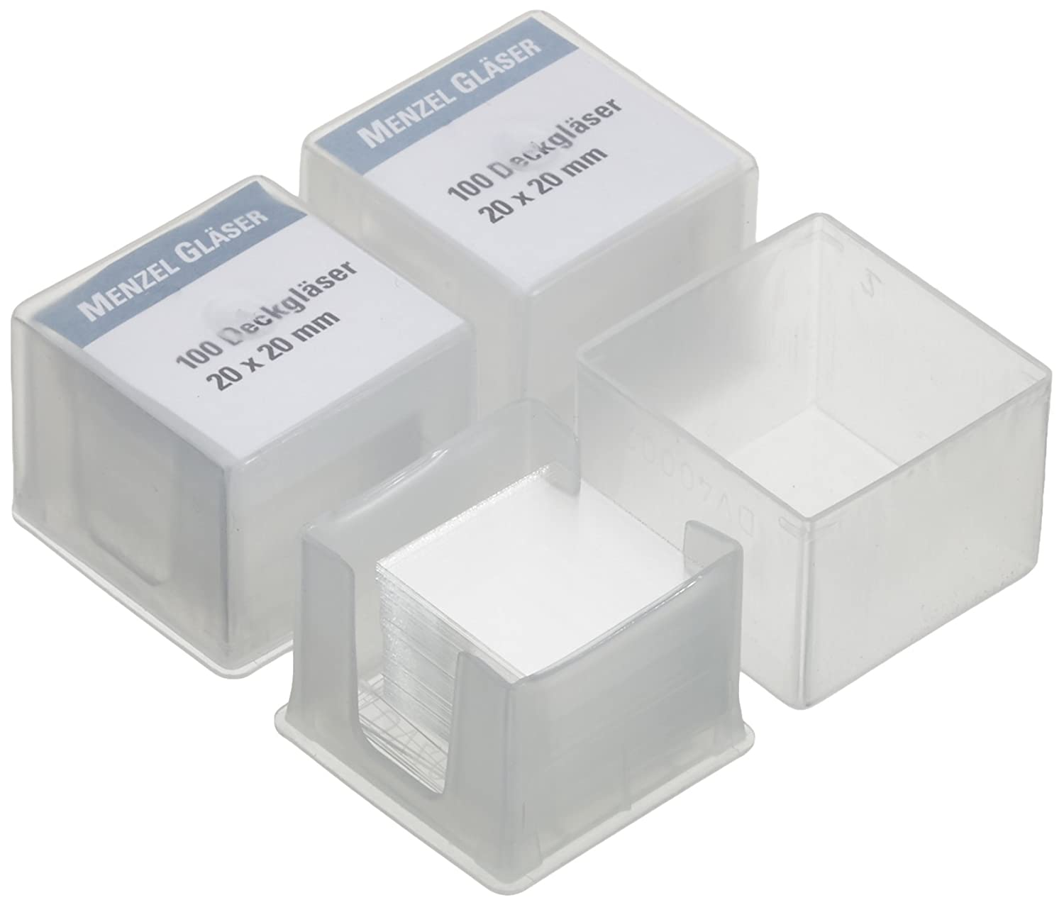 Gauge I 20/x 20/mm Neolab 4131/Cover Glass Pack of 100