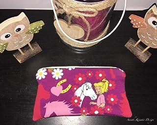 Mäppchen Bibi und Tina Blumen Mädchen Bibi Blocksberg HexHex Federmäppchen Pink Amadeus und Sabrina Ostern Geschenk Geburtstag