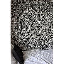 Wall Art Mandala Hippie Tapestry Full Size Sheets Wall Cotton Bohemian Tapestry By Rajrang