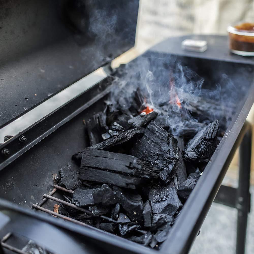 Carbón vegetal prémium grande para cocina, viene en saco de ...