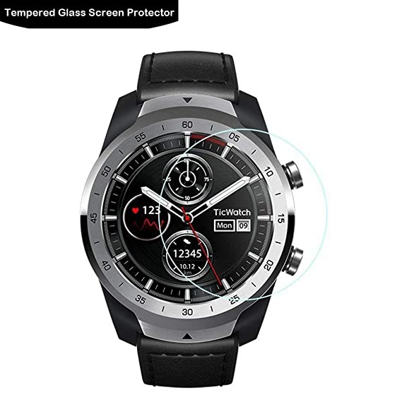 Amazon.com: Ticwatch Pro Glass Screen Protector - LOKEKE ...