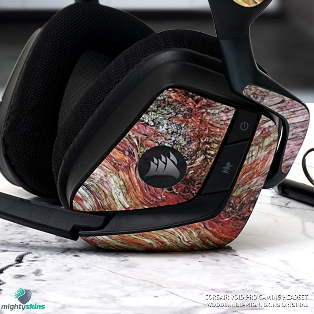 Easy to Apply Made in The USA and Unique Vinyl Decal wrap Cover Remove Purple Diamond Plate MightySkins Skin Compatible with Corsair Void Pro Gaming Headset Protective Durable