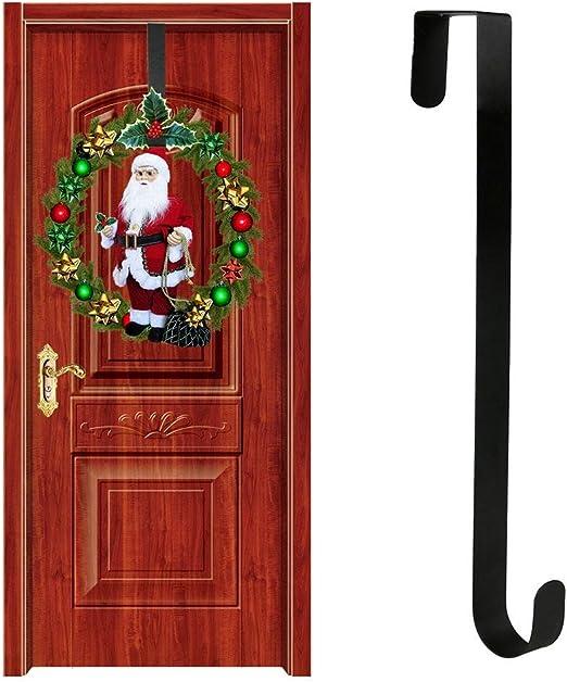 Bettying Weihnachten Kleiderb/ügel Kranz Haken 15 Zoll Christbaumkugel T/ür h/ängen Kranz Haken Kleiderb/ügel