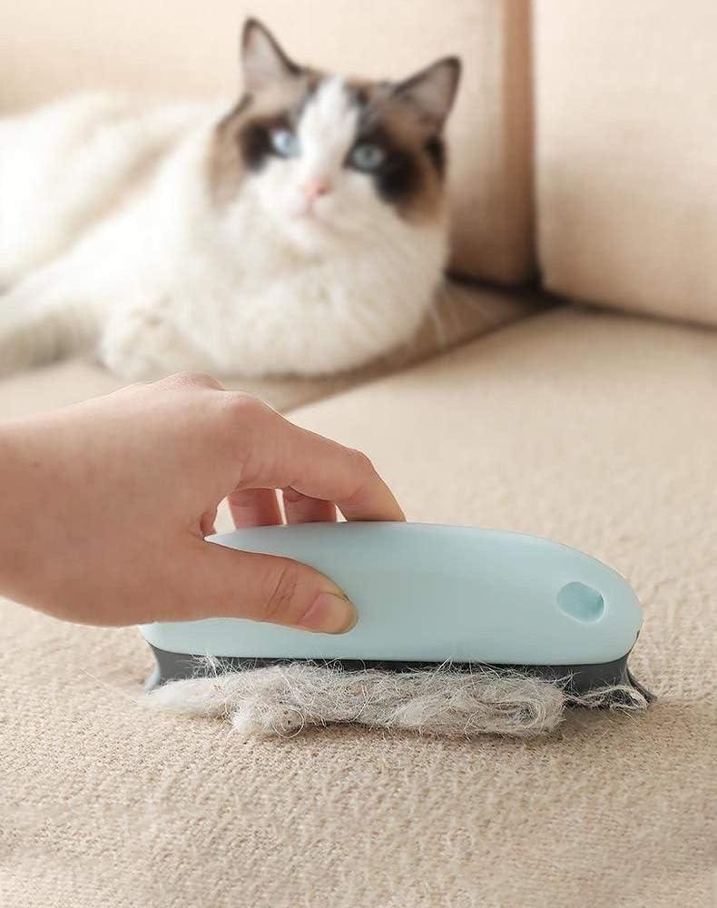 moquette mobili Confezione da 3 pezzi di rimozione dei peli di cane di gatto Pettine per la rimozione dei pelucchi per divano Spazzola per rimuovere i peli di animali domestici abbigliamento