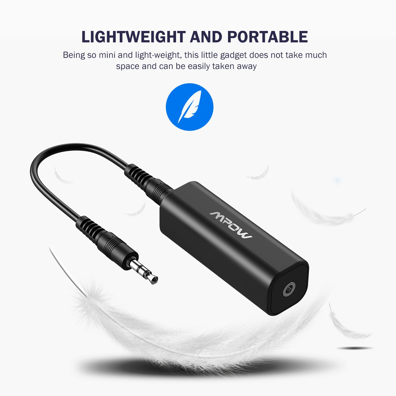 Mpow Ground Loop Noise Isolator For Car Audio Home Adding A New Light In Wiring Stereo System With 35mm Cable Black Cell Phones Accessories