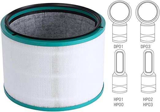 Top-well Filtro de Repuesto para purificador de Aire Dyson Pure ...