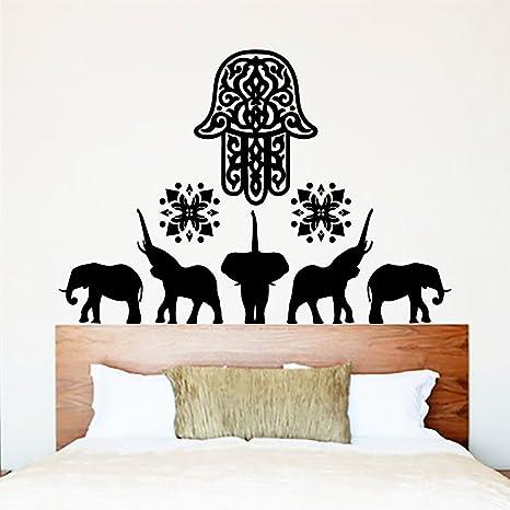 Amazon.com: calcomanía decorativo para pared Fátima Mano ...