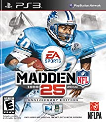 Madden NFL 25 Anniversary Edition with NFL Sunday Ticket - Playstation 3