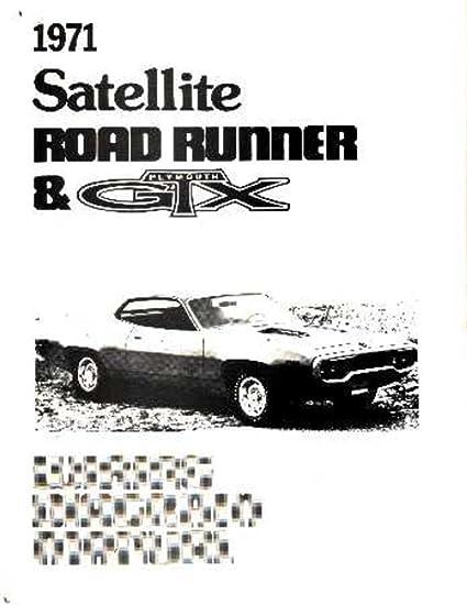 Amazing Amazon Com Bishko Automotive Literature 1971 Plymouth Road Runner Wiring Digital Resources Bemuashebarightsorg