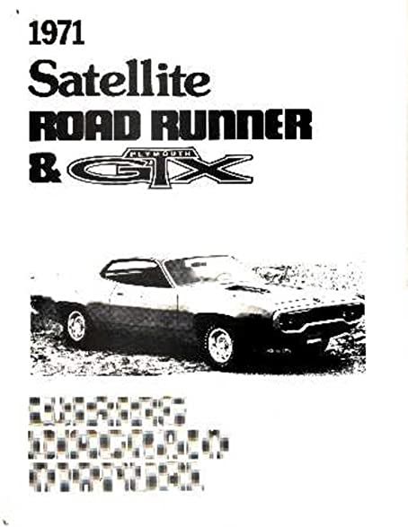 amazon com 1971 plymouth road runner satellite electrical wiring rh amazon com