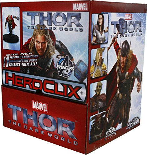 HeroClix: Marvel Thor - The Dark World Movie Gravity Feed Box