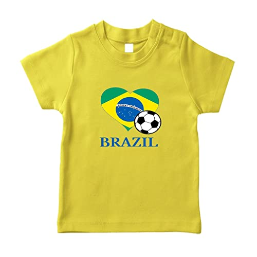 Cute Rascals Brazilian Soccer Brazil Futbol Football Cotton Unisex Toddler T-Shirt Jersey