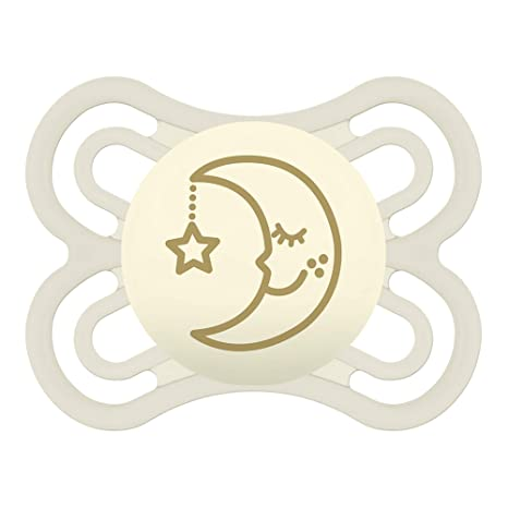 MAM Babyartikel, Chupete brillante para la noche, 0-6 meses blancos ...