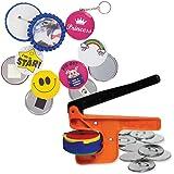 "Badge-A-Minit 300M 2 ¼"" Badge-A-Minit Button Machine Sampler Starter Kit"