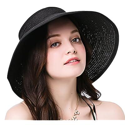 great deals 2017 good selling wholesale online Leisial Femme Visiere serre-tête Chapeau de paille visière ...