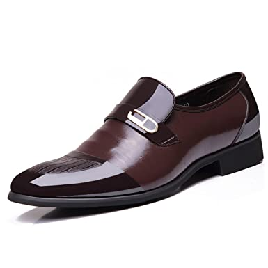 GTYMFH Herbst Lederschuhe Herren- Freizeit- Herrenschuhe Business Schuhe