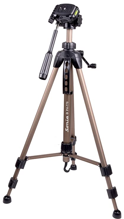 839445b4a6b Sonia PH 770 Tripod with Bag for Digital SLR &: Amazon.in: Electronics