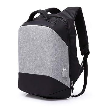CHANG Mochila para Laptops DE 15.6 Pulgadas, Mochilas Impermeables Multifuncionales USB para Estudiantes Mochila para Viajes De Gran Capacidad, ...