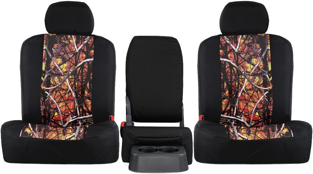 Choose YOUR Camouflage 1987-2002 Jeep Wrangler Front and Rear Seat Covers