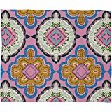 Deny Designs Pimlada Phuapradit Mirror Tiles Fleece Throw Blanket, 30 x 40