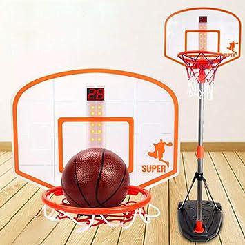 Yavso Canasta Baloncesto Infantil, 97-170cm Ajustable Aro de ...