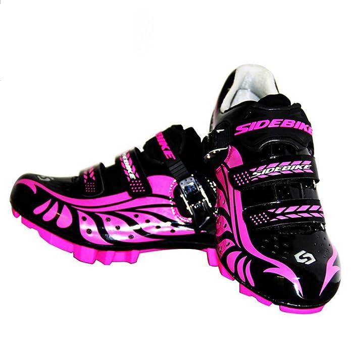 B&Y Zapatillas de Ciclismo Mujer MTB Zapatos con (US6/Eu37/Ft23.5cm): Amazon.es: Zapatos y complementos