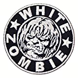 WHITE ZOMBIE Heavy Metal Band t shirts MW05 Embroidered Iron on Patches