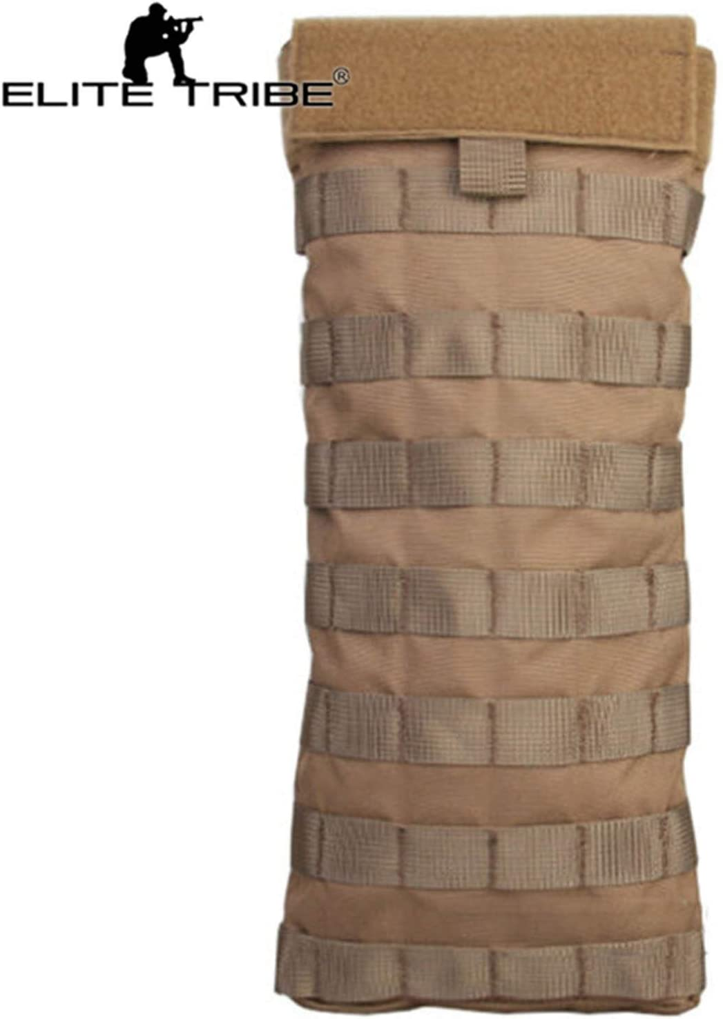 Elite Tribe Airsoft Chasse deau Sac Lbt6119/a Style Molle hydratation Pouch 2L Coyote Marron