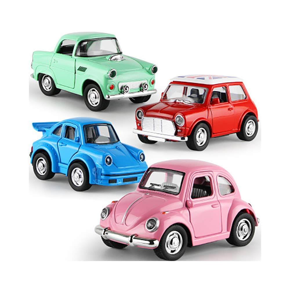 Tkhcoldm Juguete Mini Para Ninos Modelo De Coche Mini Juguete De