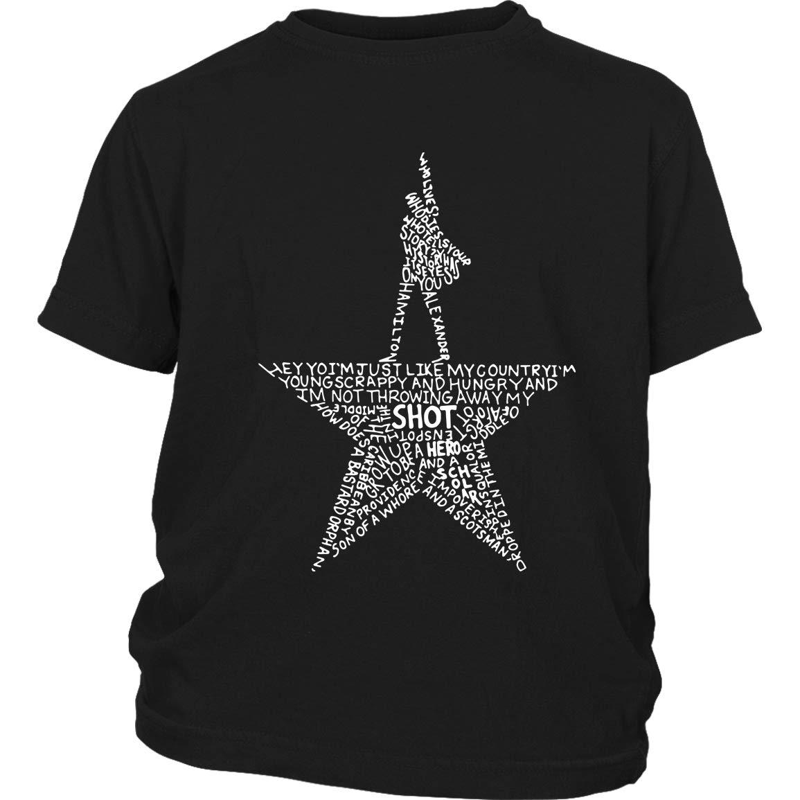 Merry Christmas American Musical T Shirt Cool Hamilton T Shirt I Love Hamilton T Shirt