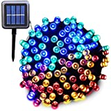 Ucharge Solar Powered Outdoor String Lights 72ft 200 Leds Solar Fairy String Lights for Outdoor, Gardens ,Homes...