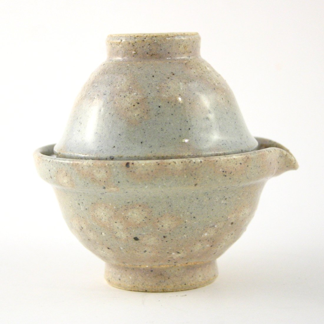 Traditional Tea for One / Korea / Momiji / Hand-made / Travel Teaset