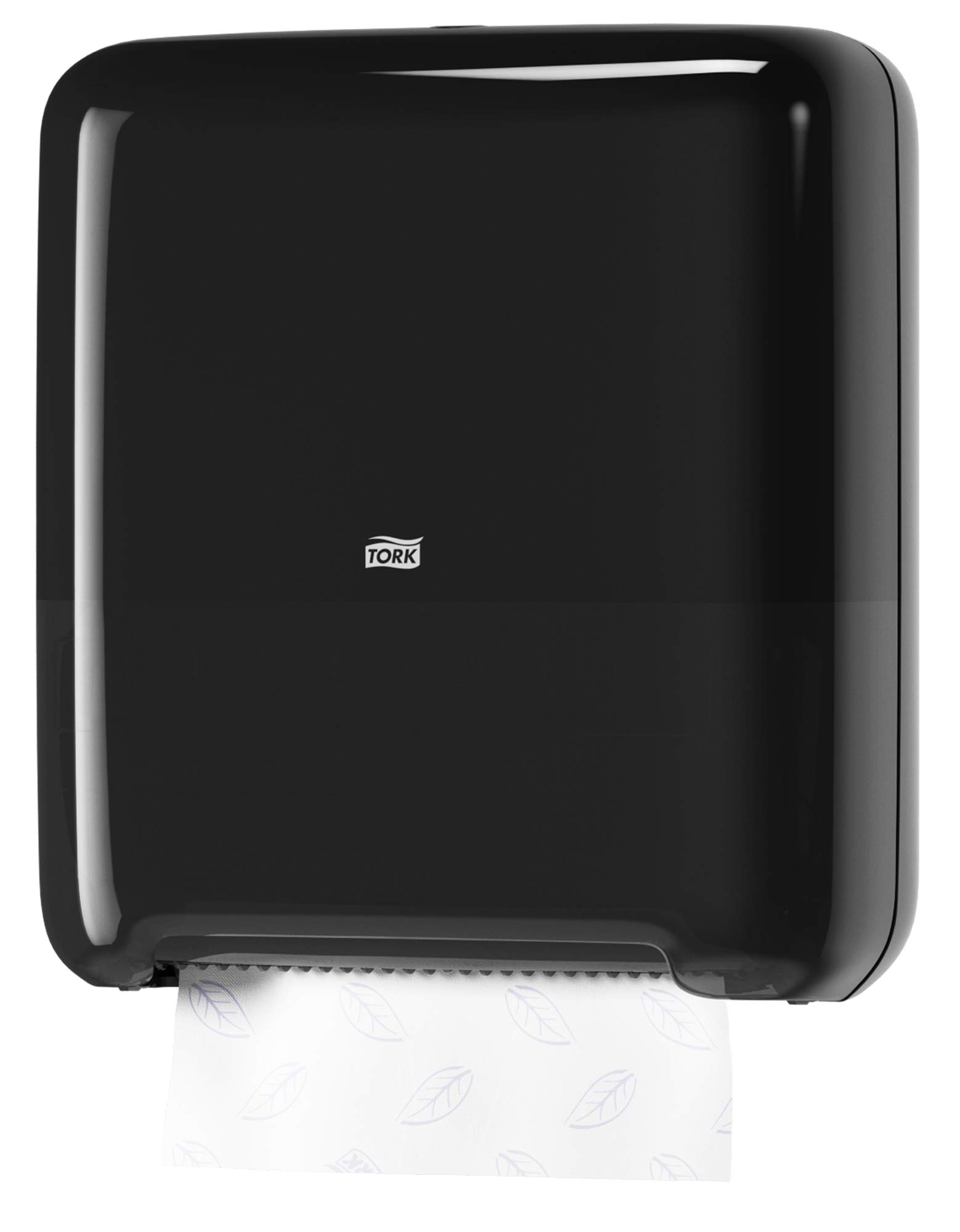 Tork 5510282 Elevation Matic Paper Hand Towel Roll Dispenser, 14.65'' Height x 13.2'' Width x 8.1'' Depth, Black (Case of 1 Dispenser) by Tork (Image #6)