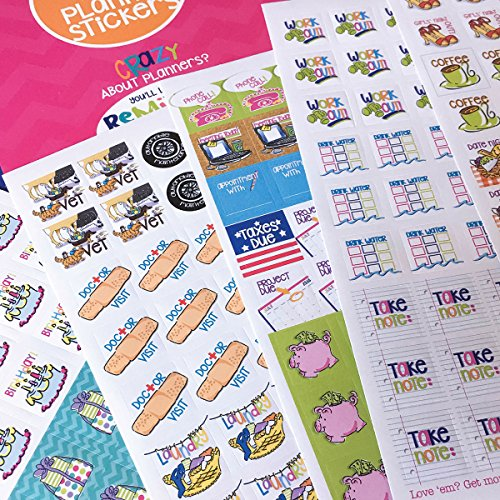 Calendar Planner Reminder Stickers : Planner stickers busy mom collection for calendars