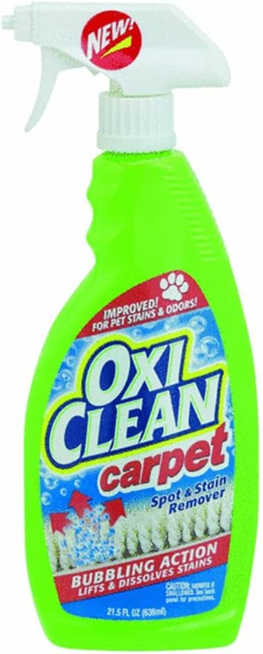 Amazon Com Oxiclean Carpet Spot Stain Remover Spray 21 5