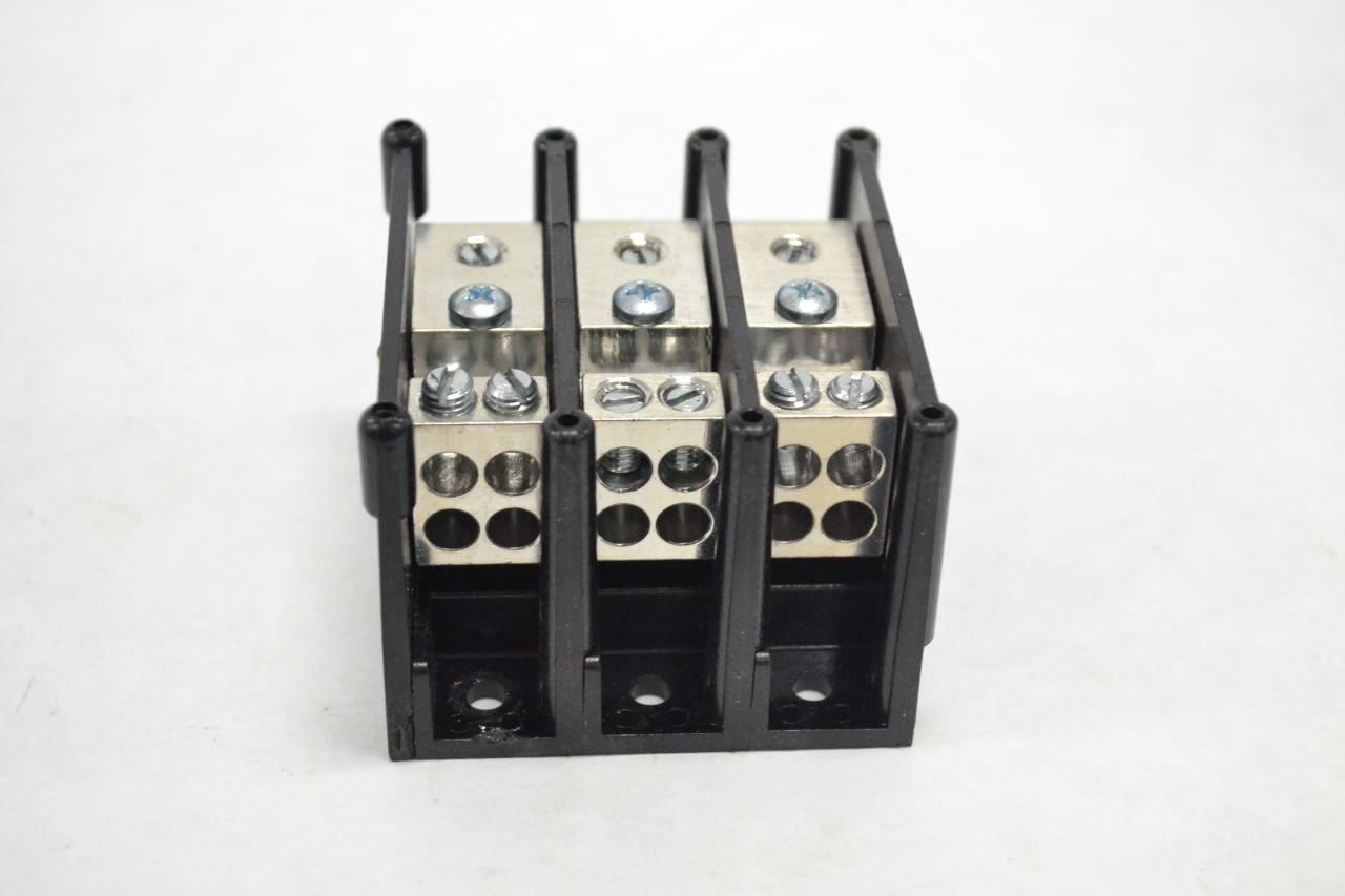 Gould 63163 distribution Block 3 Pole 600V